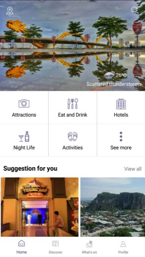 inDanang Danang Guide App Screenshot